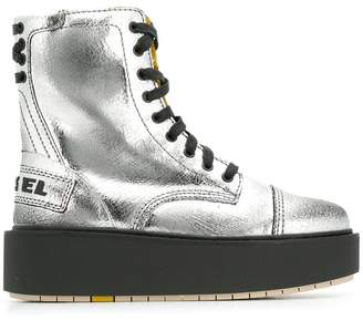 Diesel D-Cage boots