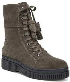 Franco Sarto Becks Suede Lace-Up Boots