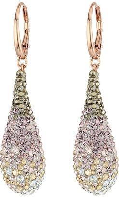 Swarovski - Abstract Pierced Earrings Earring $129 thestylecure.com
