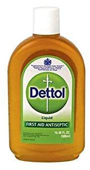 Dettol Liquid First Aid Antiseptic 16.9 oz (Pack of 5)