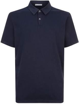 James Perse Cotton Polo Shirt