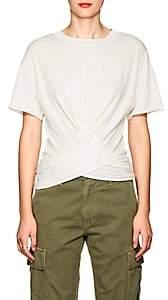 NSF Women's Frances Cotton Wrap T-Shirt - White