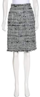 Chanel Embellished Tweed Skirt