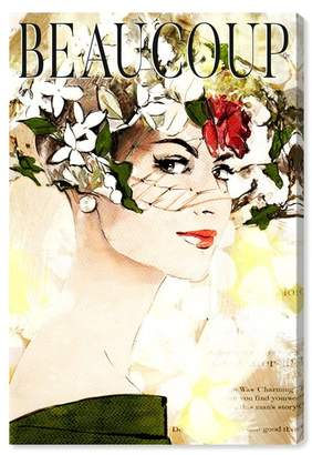 """Oliver Gal Gallery Beaucoup Canvas Print - 10\""""x15\"""""""