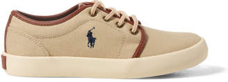 Ralph Lauren Ethan Low Canvas Sneaker