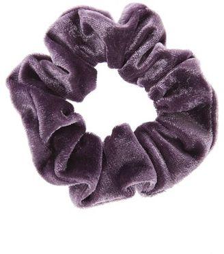 Mini velvet scrunchie