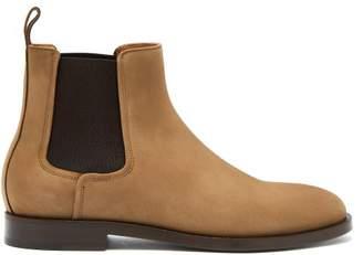 Lanvin Nubuck Chelsea Boots - Mens - Tan