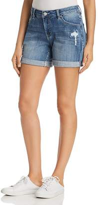 Jag Jeans Alex Distressed Denim Boyfriend Shorts