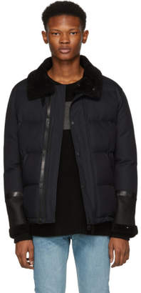 Mackage Navy Edmund Down Jacket