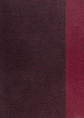 Two Tone Wool Blanket Scarf