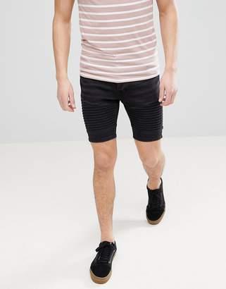 Brave Soul Skinny Biker shorts