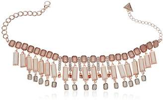 GUESS Womens Spring Whites Statement Necklace with Stones
