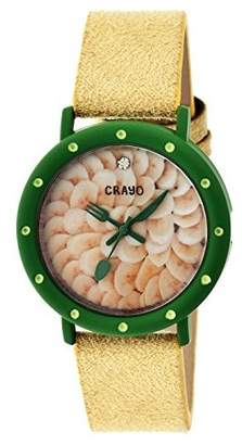 Crayo Women's CRACR2104 Slice Of Time Multicolor Watch
