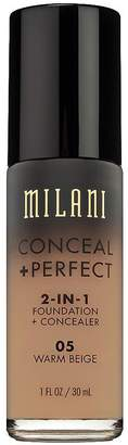 Milani Conceal + Perfect 2-in-1 Foundation + Concealer, Warm Beige