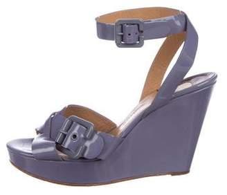52d9ada1e9f Purple Patent Leather Women s Sandals - ShopStyle
