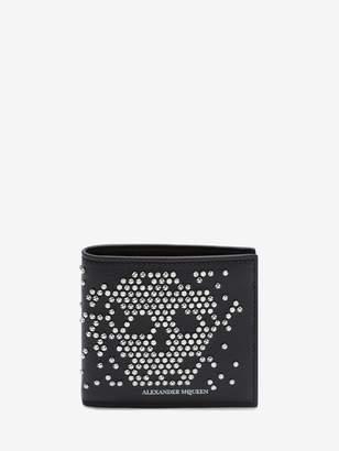 Alexander McQueen Studded Leather Billfold Wallet