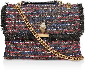 Kurt Geiger London Large Tweed Kensington X Bag