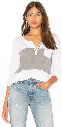 Chaser Blocked Jersey Henley