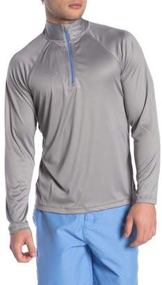 Trunks Surf and Swim CO. Half Zip Long Sleeve Swim Top