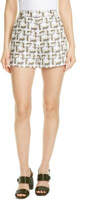 Equipment Jeannine Linen Shorts