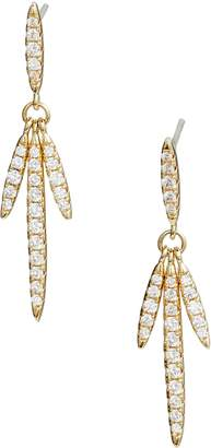 Nordstrom Pave Fringe Linear Earrings