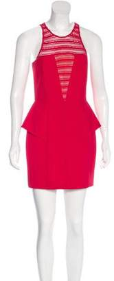Mason Sleeveless Peplum Dress