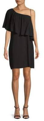 Ella Moss Asymmetrical Neckline Shift Dress