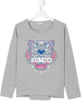 Kenzo teen logo printed T-shirt