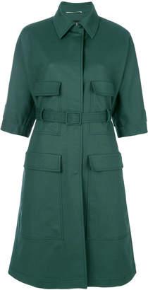 Rochas short sleeve coat