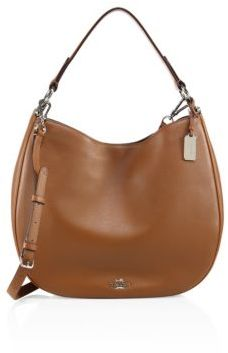 coach hobo bags outlet p2oi  Coach Nomad Leather Hobo Bag