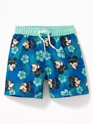 Old Navy Disney© Mickey Mouse Swim Trunks for Toddler Boys