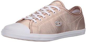 Lacoste Women's Ziane 116 1 Fashion Sneaker $94.95 thestylecure.com