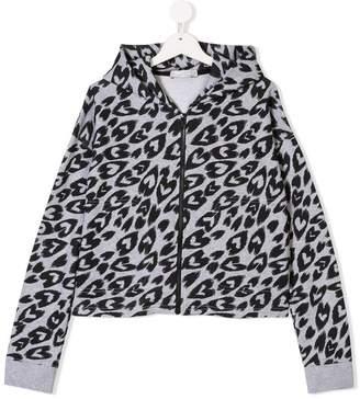 Stella McCartney TEEN heart print hoodie