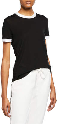 RtA Quinton Crewneck Short-Sleeve Top