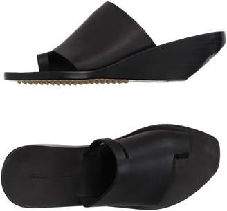 Rick Owens Toe strap sandals