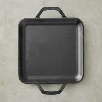 Lodge Cast-Iron Double Handled Square Griddle