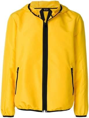 No.21 hooded jacket