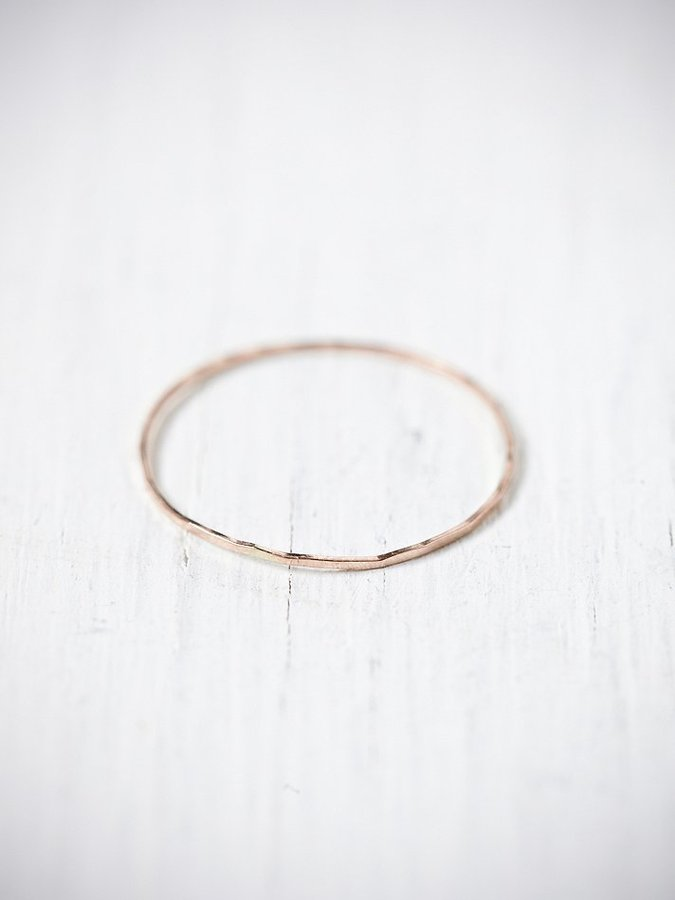 Free People Threadbare Stacking Ring