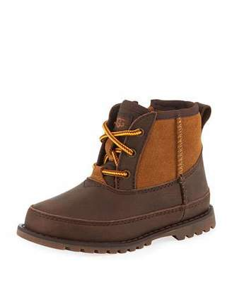 UGG Bradley Suede & Leather Waterproof Boots, Toddler