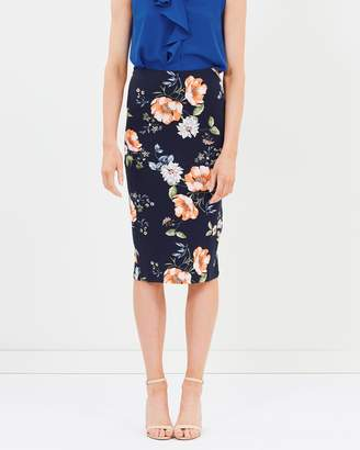 Dorothy Perkins Jenny Floral Pencil Skirt