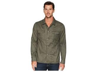 Calvin Klein Heather Military Shirt Jacket Men's Coat