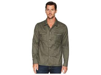 Calvin Klein Heather Military Shirt Jacket