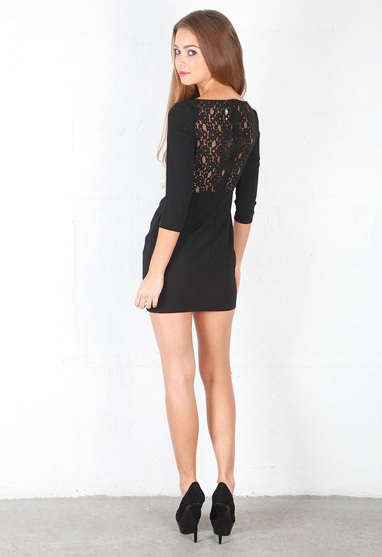 Bec & Bridge Bellini Long Sleeve Lace Dress -