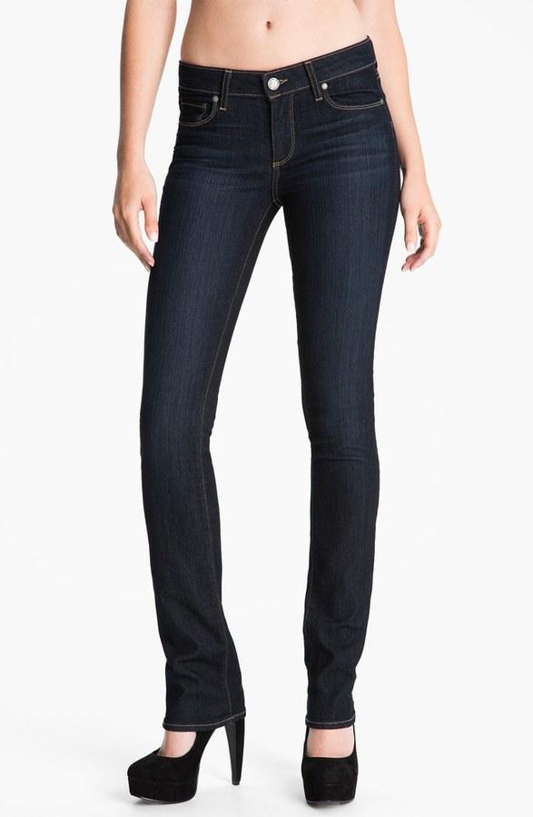 Paige 'Skyline' Straight Leg Stretch Denim Jeans
