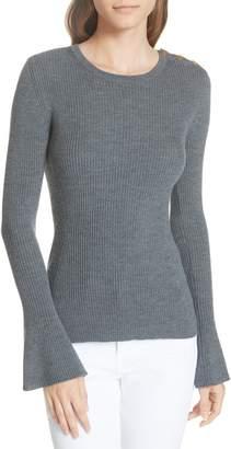 Tory Burch Liv Merino Wool Sweater