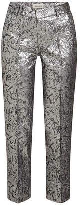 Zadig & Voltaire Posh Metallic Jacquard Pants