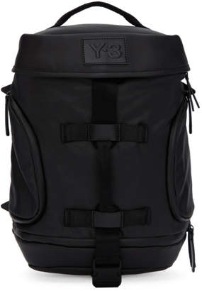 Y-3 Black Small Icon Backpack