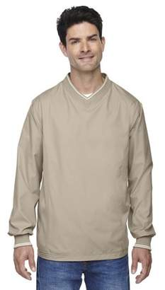 Ash City - North End Adult V-Neck Unlined Wind Shirt - PUTTY 734 - M 88132