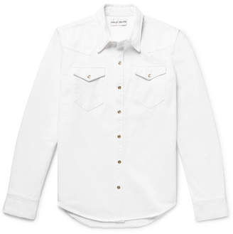 Privee SALLE Rohe Denim Western Overshirt
