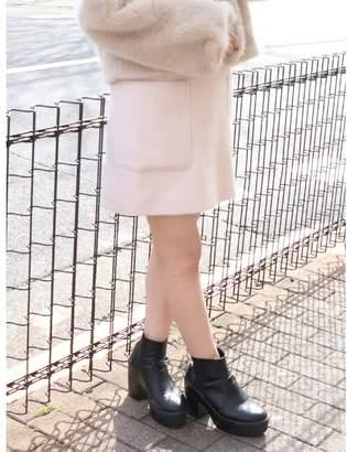 dazzlin (ダズリン) - ダズリン ビックポケットシャギーミニスカート